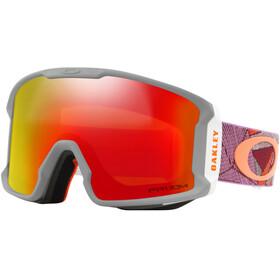 Oakley Line Miner XM Snow Goggles Damen port sharkskin/prizm snow torch iridium